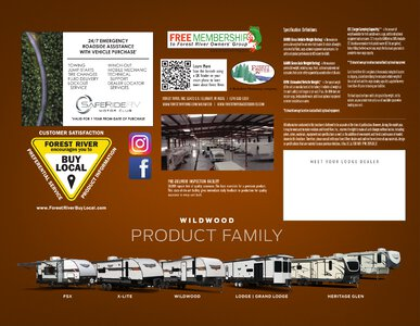 2021 Forest River Wildwood Lodge Brochure page 4