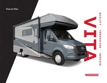 2021 Winnebago Vita Brochure